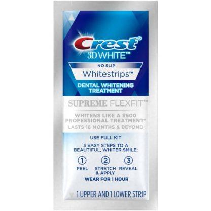 Crest 3D White Whitestrips Supreme Flexfit