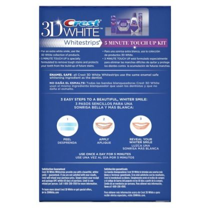 Crest 3D White Whitestrips Stain Shield 5 Minute Touch-Up Kit