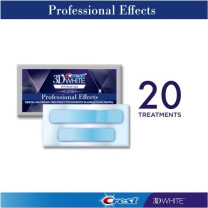 Crest Whitestrips Professional Effects