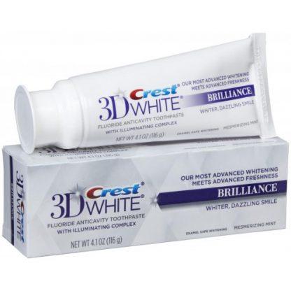 Crest 3D White Brilliance Mesmerizing Mint Whitening Toothpaste
