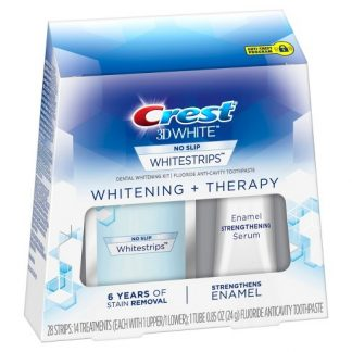 Crest 3D White Whitestrips Whitening + Therapy Teeth Whitening Kit