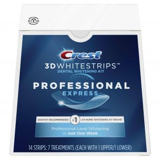 Crest 3D Whitestrips Professional Express